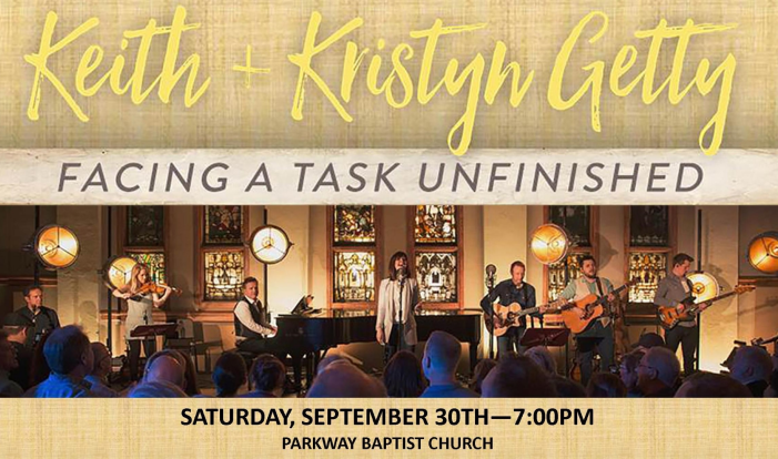 Keith & Kristyn Getty Concert - Sep 30 2017 7:00 PM