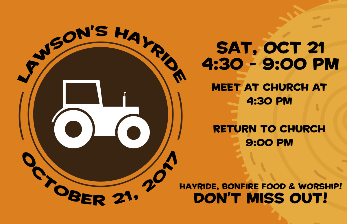 Student Ministry - Hayride at the Lawson Farm