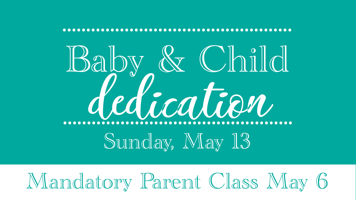 Parent Dedication Class